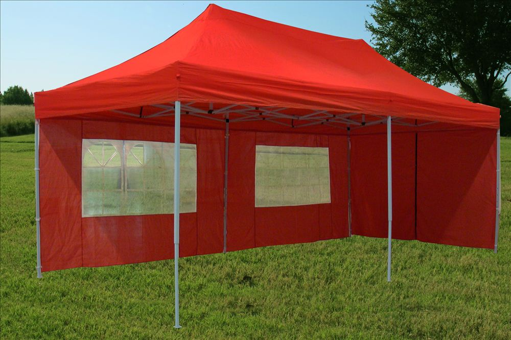 10 X20 Enclosed Pop Up Canopy Party Folding Tent Gazebo