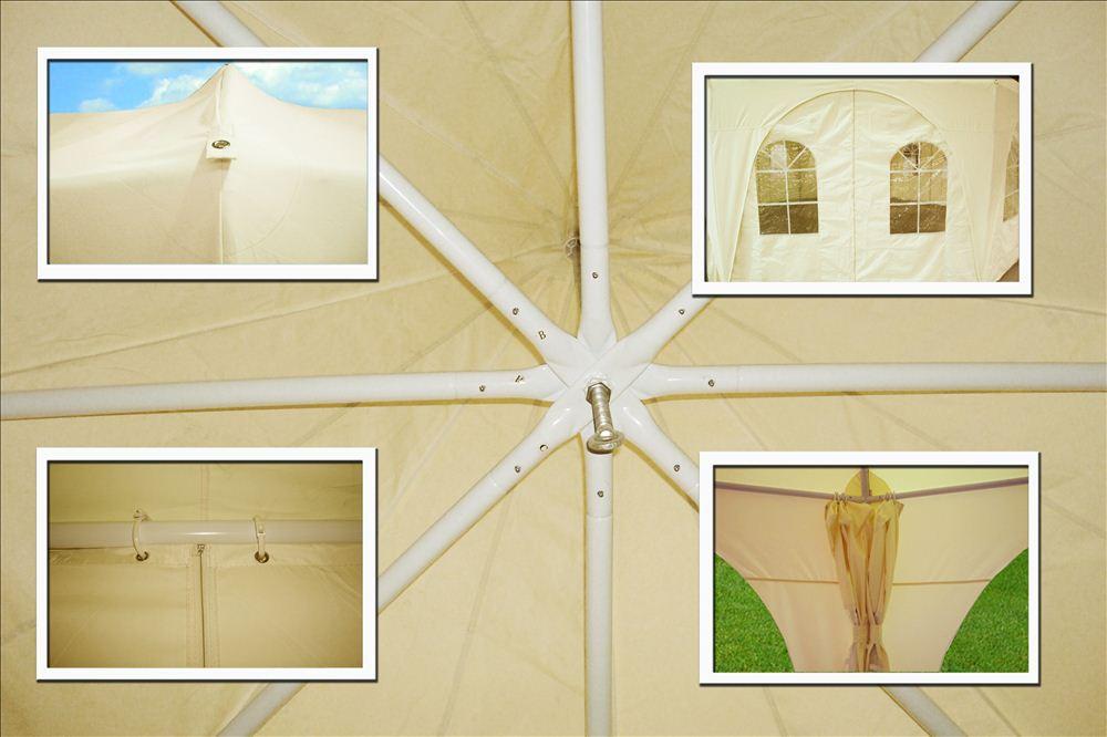 20 X20 Octagonal Party Wedding Gazebo Tent Canopy Shade