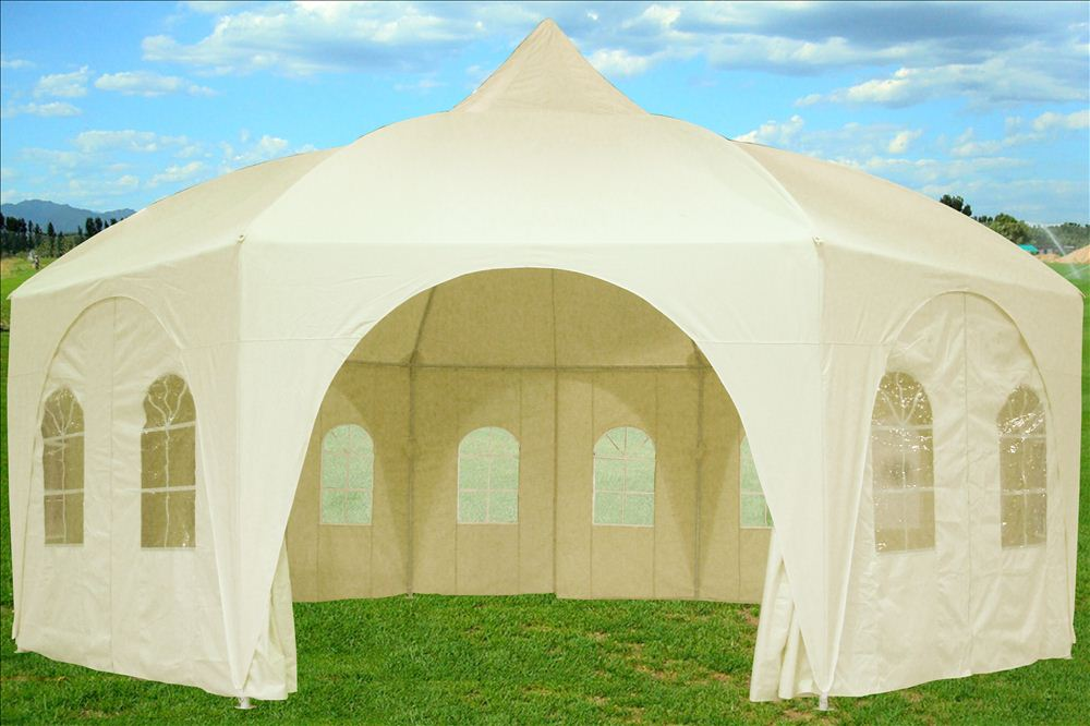 20'x20 Octagonal Party Wedding Gazebo Tent Canopy Shade
