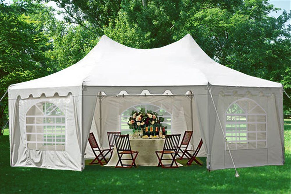 29 X 21 Polyester Decagonal Party Tent