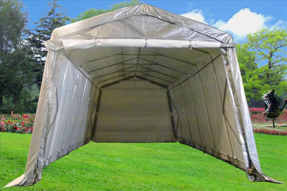 Canopies And Storage : Carport x garage storage canopy shed