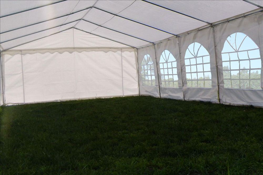 32 X 16 Pe Party Tent Heavy Duty Carport Canopy