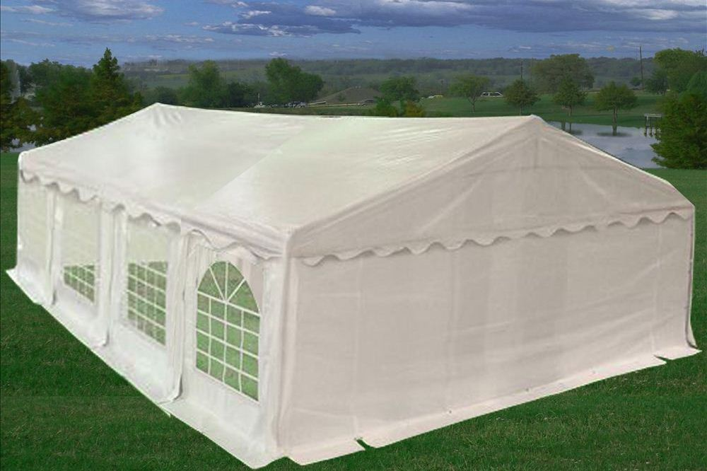 26u0027 x 20u0027 Multi-Section PVC Party Tent & PVC Party Tent 26u0027x20u0027 - Heavy Duty Party Wedding Tent Canopy ...
