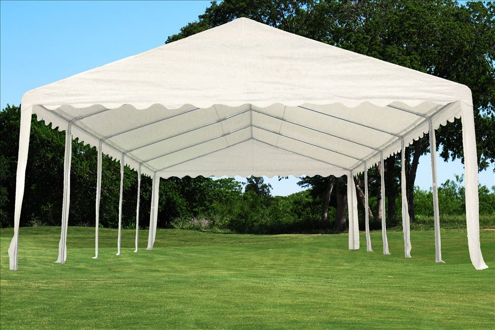 Outdoor Tents For Cars : Pe party tent x heavy duty wedding outdoor
