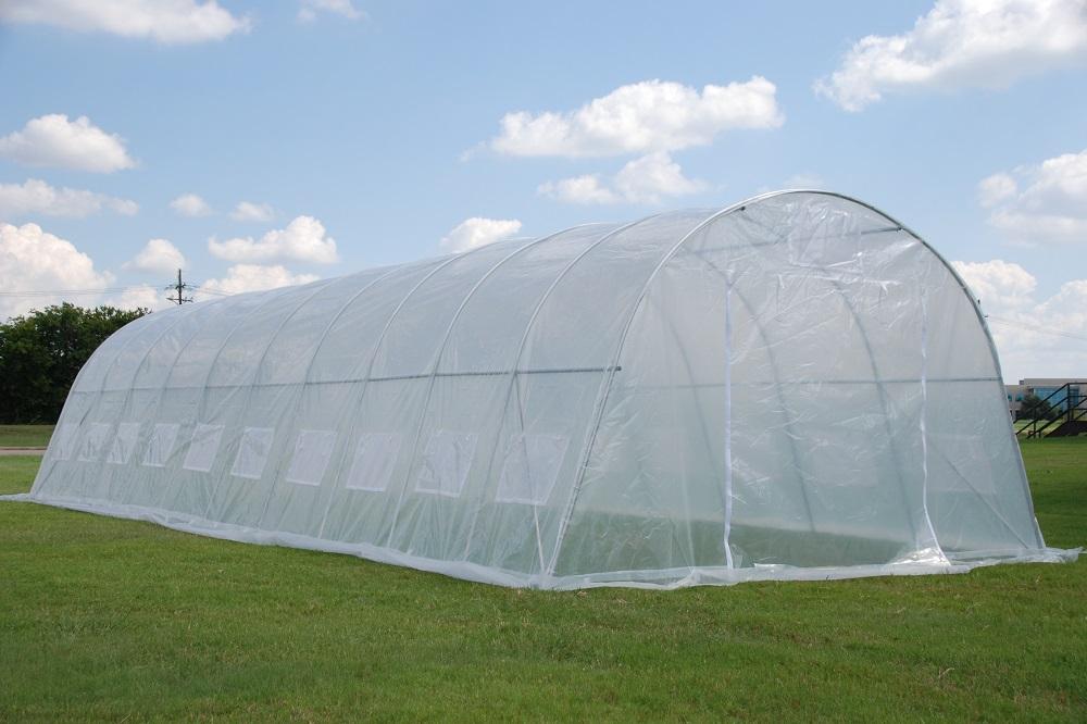 Greenhouse 33u0027x13u0027 - Clear & Green Garden Round Top Hot House - Greenhouse 33u0027 x 13u0027 Clear | eBay