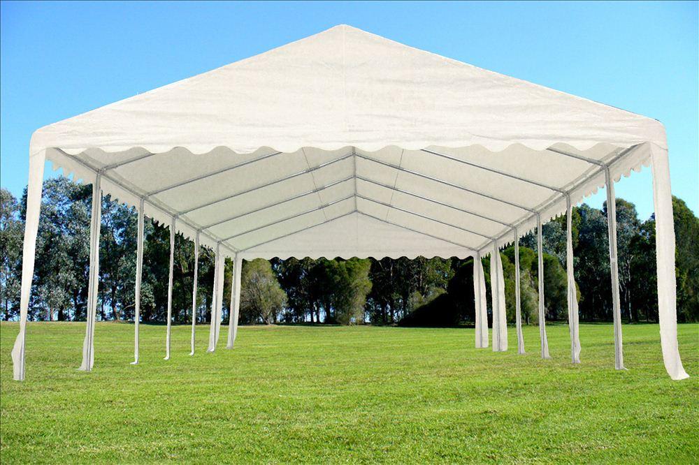 40 X 16 Pe Party Tent Heavy Duty Carport Canopy