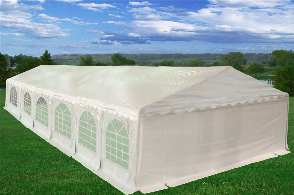 Sale 40 X 20 Pe Party Tent Heavy Duty Carport