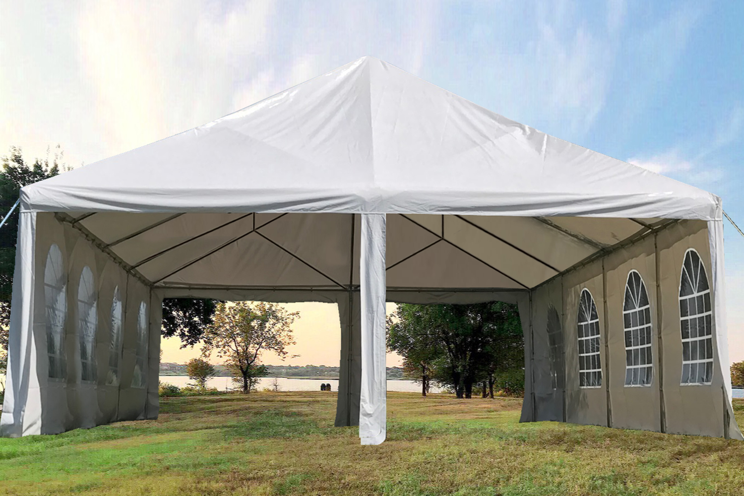 30 X20 40 X20 Pvc Frame Tent Party Wedding Canopy