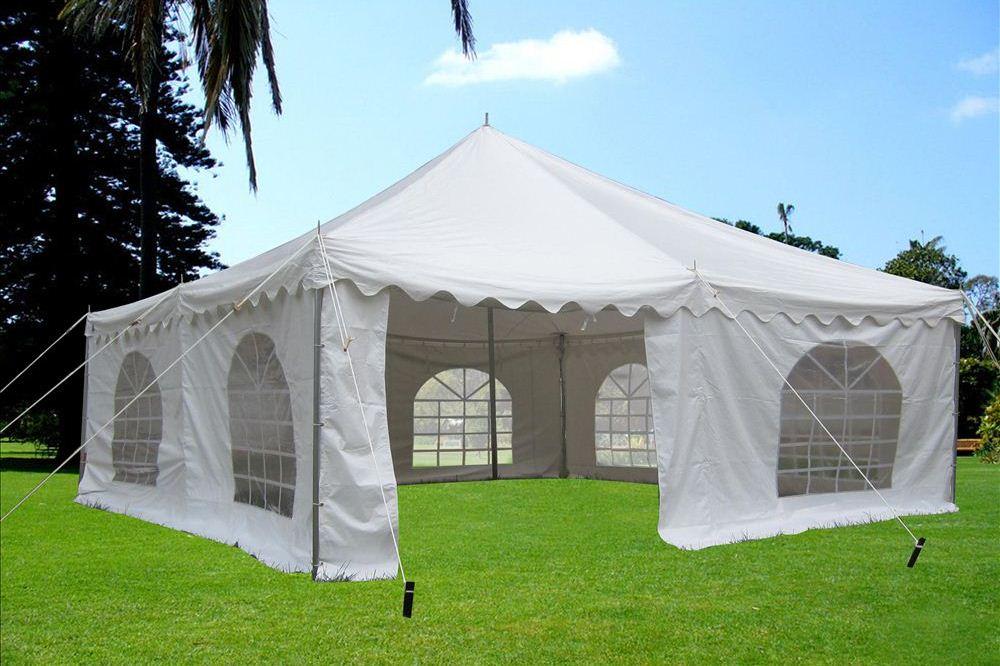 Pvc Pole Tent 20 X20 Party Wedding Tent Canopy Gazebo