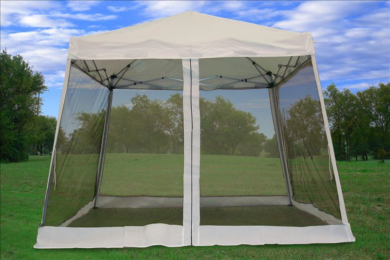 8 X8 10 X10 Pop Up Canopy Party Tent Gazebo Ez W Net
