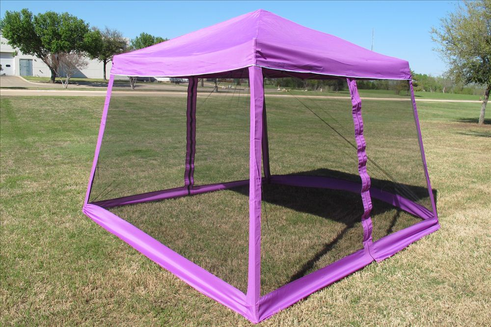 8 X8 10 X10 Pop Up Canopy Party Tent Gazebo Ez W Net