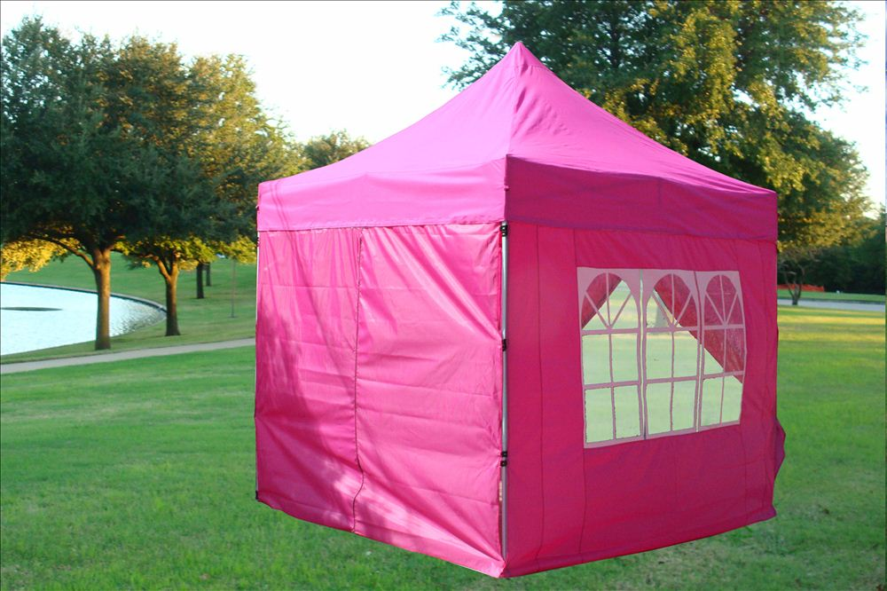 8 X8 Pop Up Canopy Folding Party Tent 6 Colors