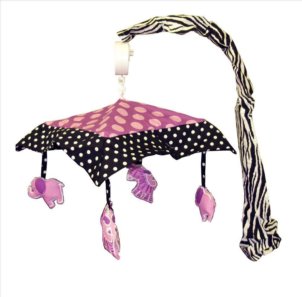 Baby Boutique Animal Planet Purple 14 Pcs Crib
