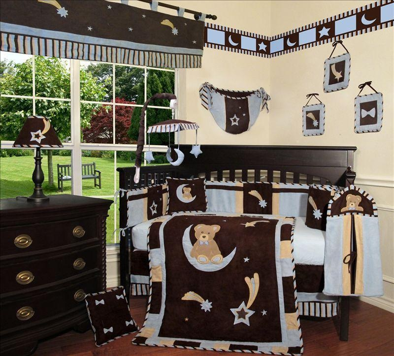 Excellent Moon And Stars Baby Bedding Sets - Bedding Designs OZ05