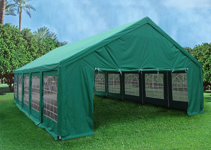 Green Color Canopies : Heavy duty party wedding tent canopy carport