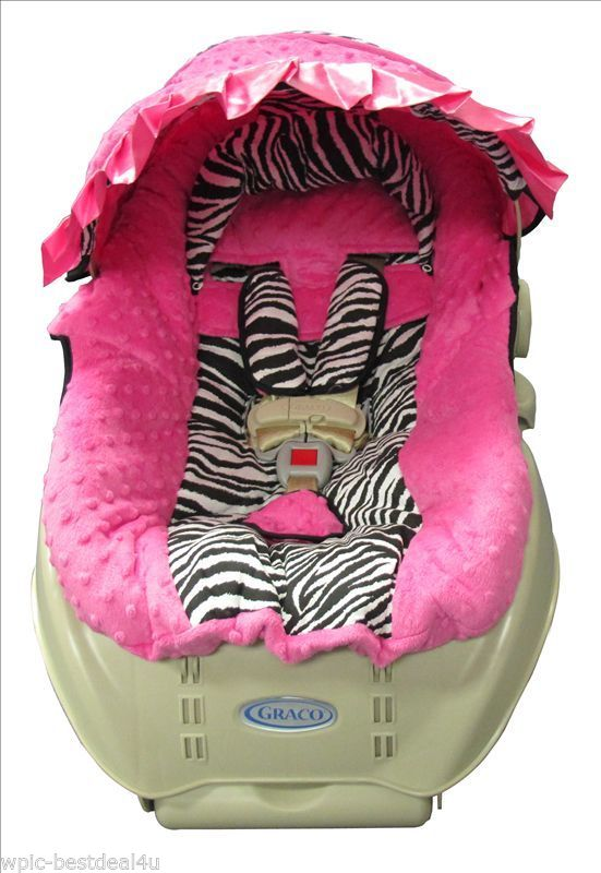 Zebra Infant Car Seat Head Support
