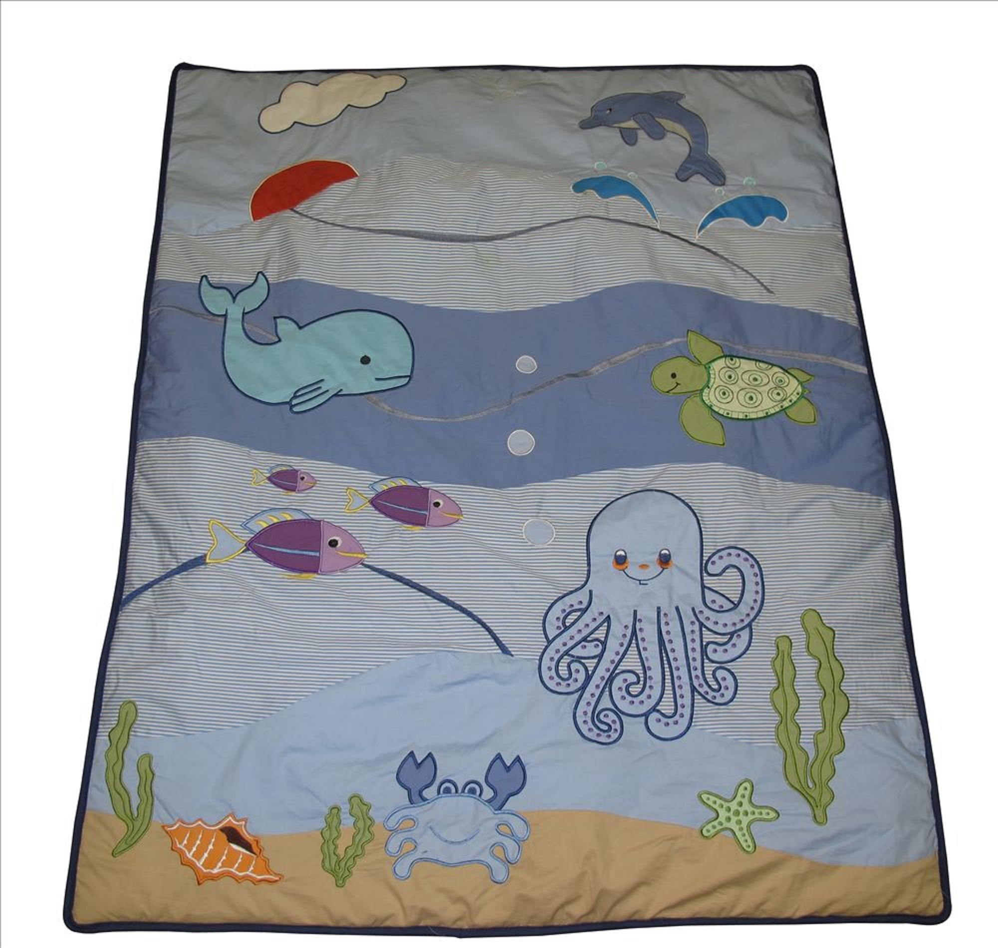 Baby Boutique Under The Sea 14 Pcs Crib Bedding Set