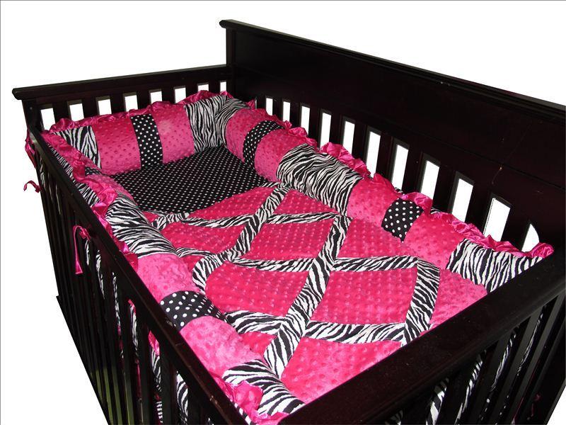 14 Pcs Crib Bedding Set