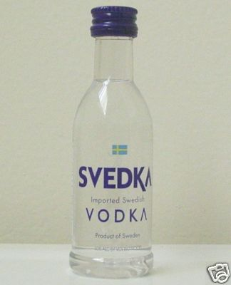 how to say vodka in swedish