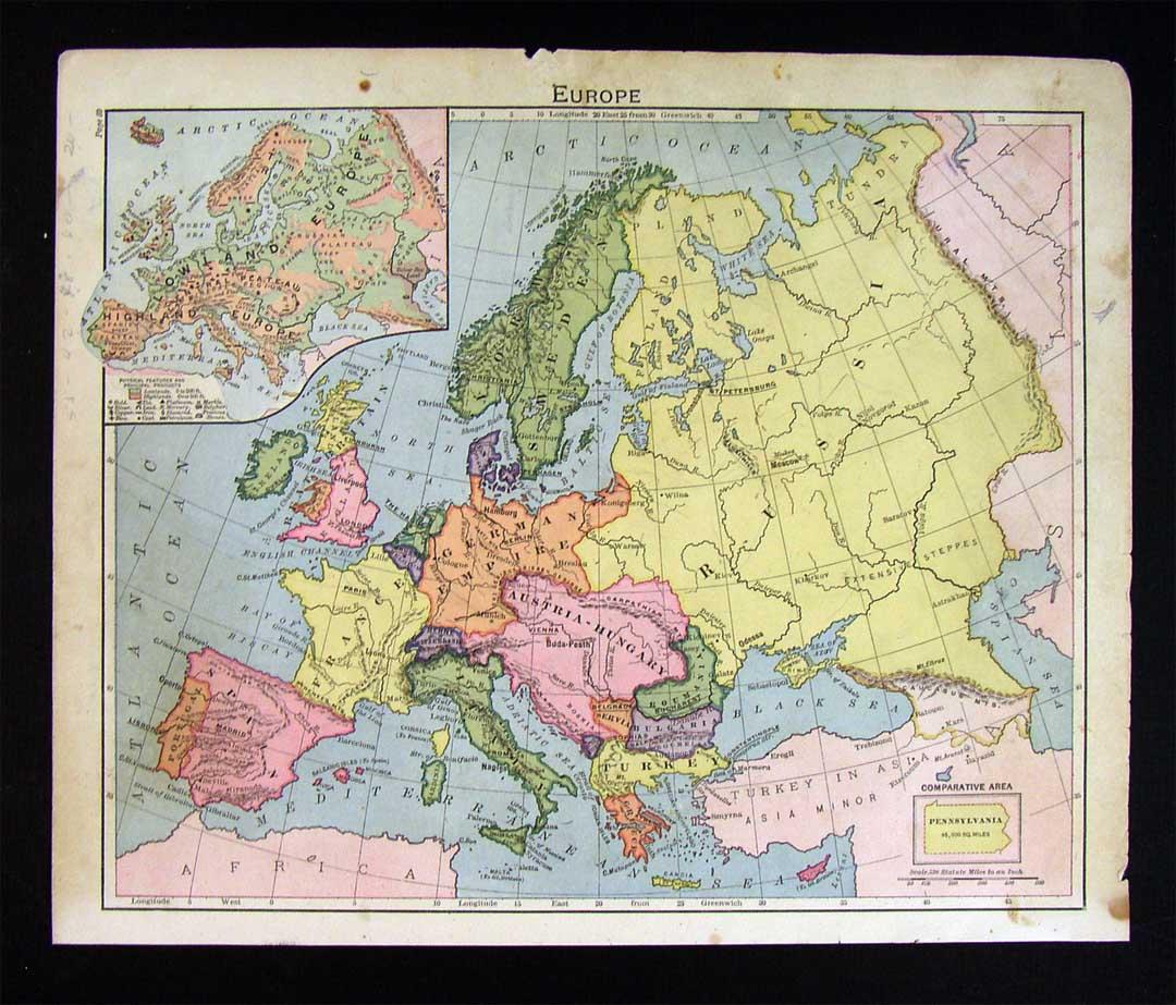 古代西欧地图