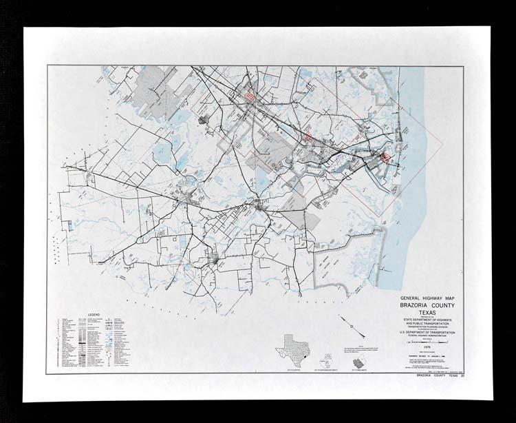 A Vintage 1985 Map