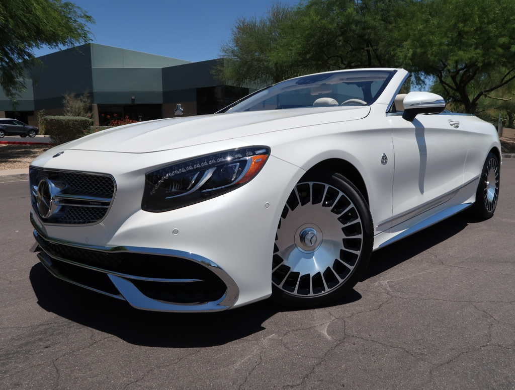 Details About 2017 Mercedes Benz S Class Maybach S 650 Cabriolet
