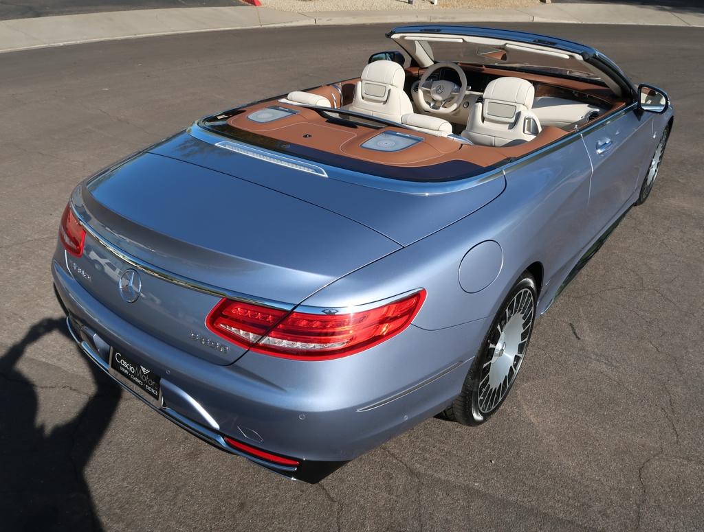 2017 Mercedes-Benz S-Class Maybach S 650 Cabriolet: 2017 Mercedes Benz Maybach S 650 Cabriolet Brand New 48 Miles VERY RARE S650