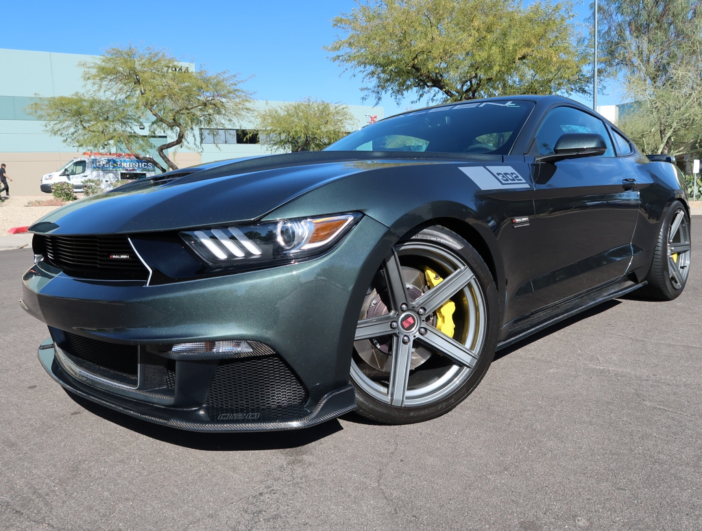 2015 ford mustang saleen s302 black label ebay. Black Bedroom Furniture Sets. Home Design Ideas
