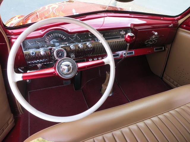 1951 Mercury Other Coupe: 4.5inch Chop Custom Flames Air Ride Award Winner Hot Rod 1950 1949 1951 merc