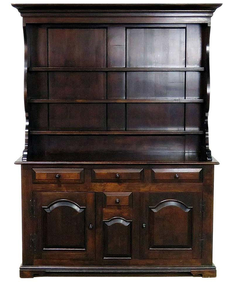 Gorgeous Solid Pine Wallace Nutting Welsh Jelly Cupboard Cabinet C1960s Ebay