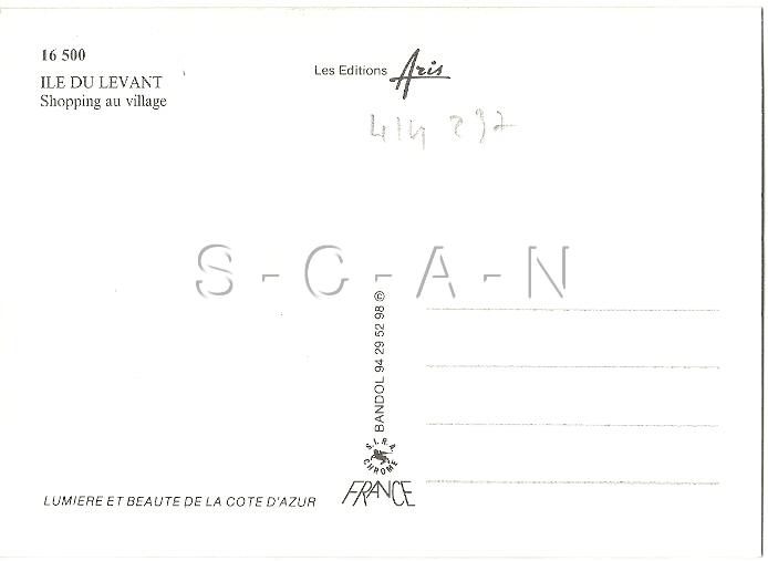 Org 1960s French Nude Risque PC- Naturisme- Ile Du Levant