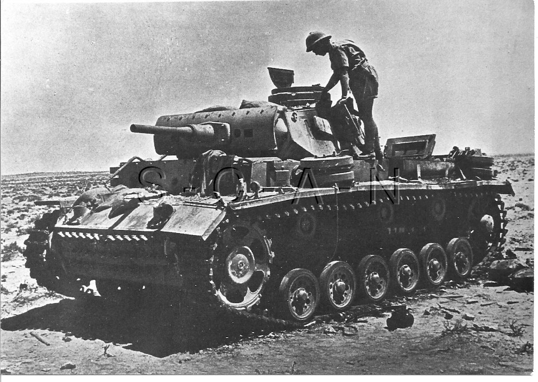 Details about WWII German Panzer Tank- DAK- Panzerkampfwagen III- Large  Private Archive Photo