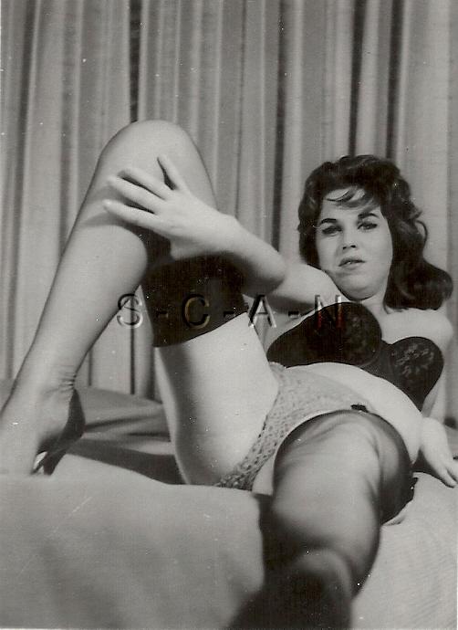 Vintage stockings and panties