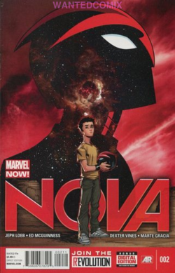 NOVA #6 MARVEL NOW JEPH LOEB ED McGUINNESS COMIC BOOK NEW 2013 STAR LORD AVENGER