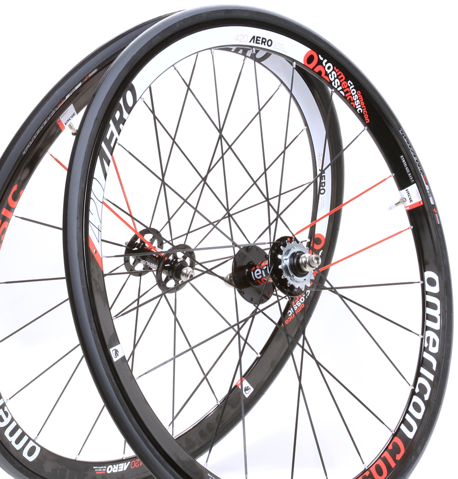 American-Classic-420-Aero-Road-Bicycle-Track-Bike-Bicycle-Wheelset-700c-Clincher