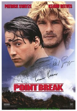 "Point Break Poster 27/""x40/"""