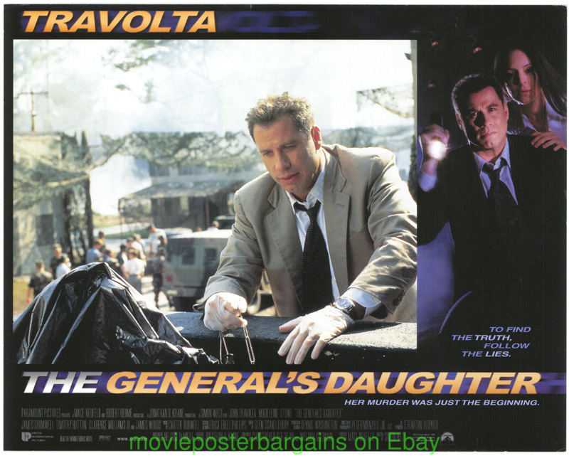 generals daughter lobby card size 11x14 inch movie poster