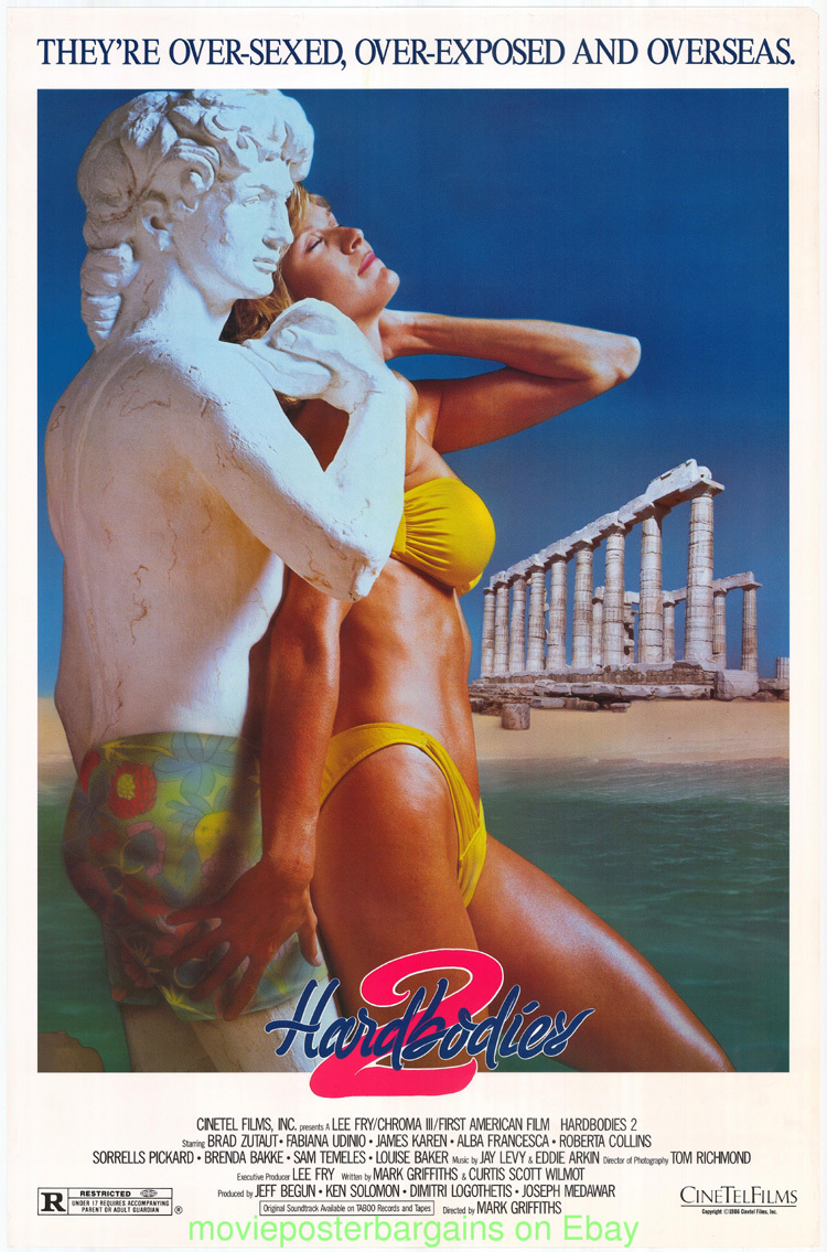 American Taboo Movie details about hardbodies ii movie poster 27x40 original video store 1sht  1986 very nice art !!