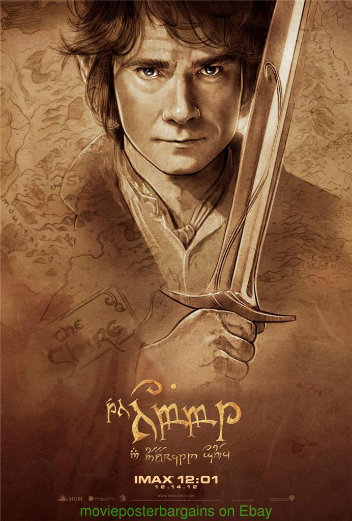 POPULAR FAMOUS MOVIE THE HOBBIT WHOLE CHARACTER PROMO POSTER PUBLICITY PHOTO