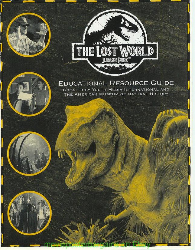 Rare jurassic park movie posters