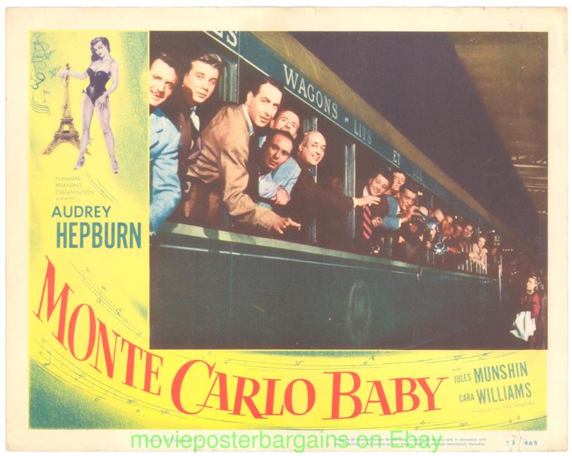 Paris when it sizzles Audrey Hepburn movie poster #2