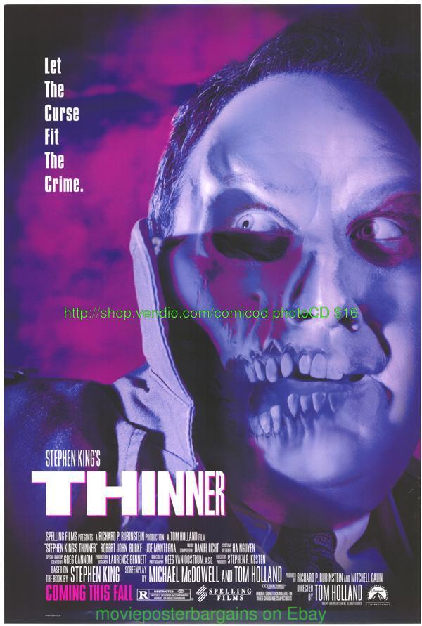 GRAVEYARD SHIFT Movie Poster Horror Stephen King