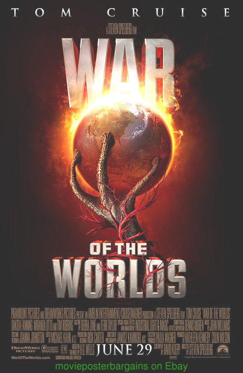 war of the worlds movie pictures. WAR OF THE WORLDS MOVIE POSTER