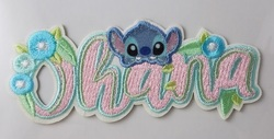 Disney Parks Patched Stitch Ohana Cute Lilo Adhesive Patch NEW