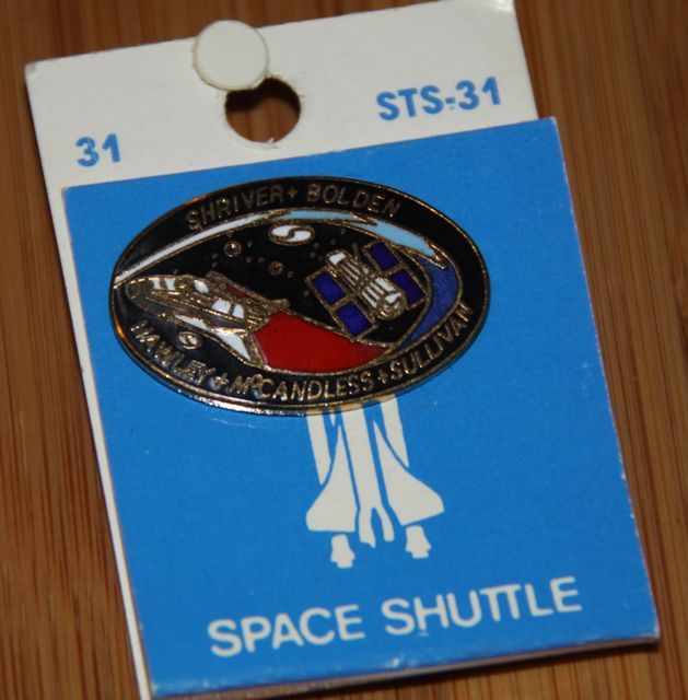 space shuttle mission pin set - photo #7