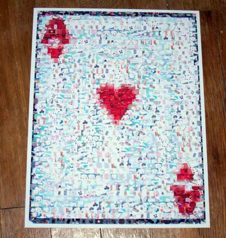 Amazing big Ace of Hearts POKER WSOP Montage w COA