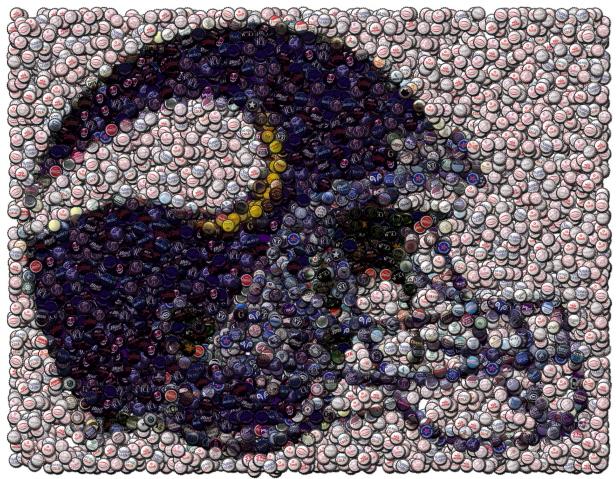 Best Bar Game Room Minnesota Vikings Sign framed w COA