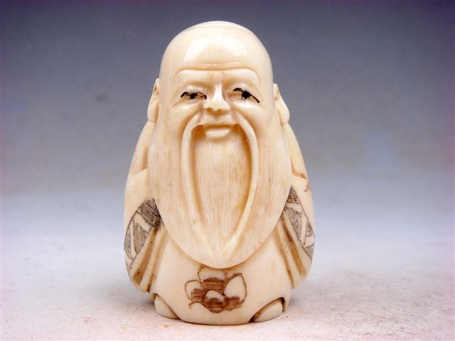 japanese netsuke carvings