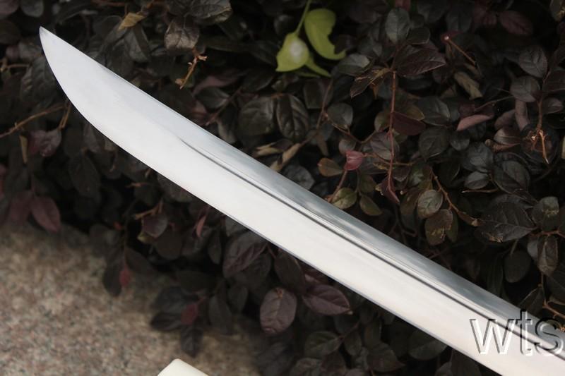 46 9 Quot Handmade Sharp Japanese Naginata Sword Shikaku Tsuba