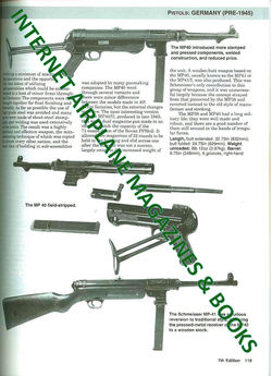 MILITARY SMALL ARMS OF THE 20th CENTURY PISTOL RIFLES SUBMACHINE